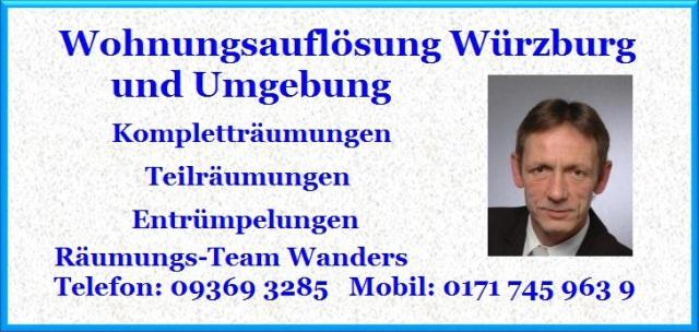 Wohnungsauflösung Höchberg