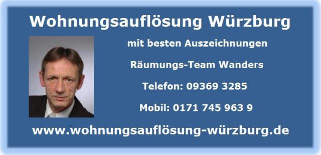 Wohnungsauflösung Ochsenfurt