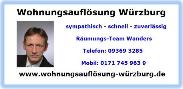 Wophnungsauflösung Kreuzwertheim