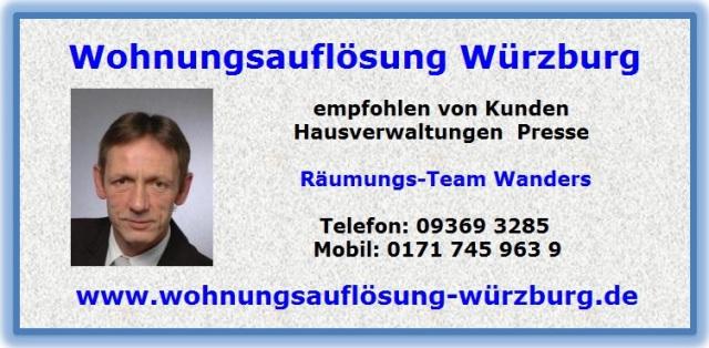 Wohnungsauflösung Mainbernheim