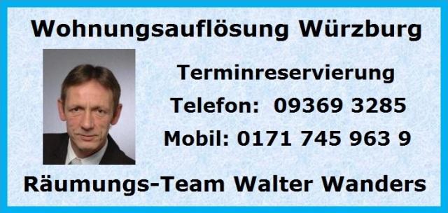 Wohnungsauflösung Waldbrunn