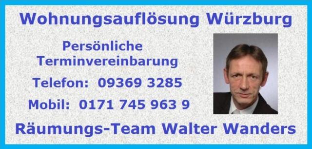 Wohnungsauflösung Sommerhausen